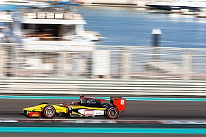 FIA F2 Testing report Stéphane Richelmi: The GP2 collective tests are concluded in Abu Dhabi