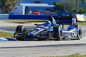 IndyCar Testing report Rahal Letterman Lanigan Racing - Barber Open Test notes and quotes