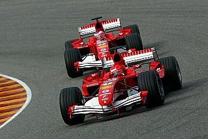 Formula 1 Breaking news Ferrari 'only did well with Schumacher' - Montoya