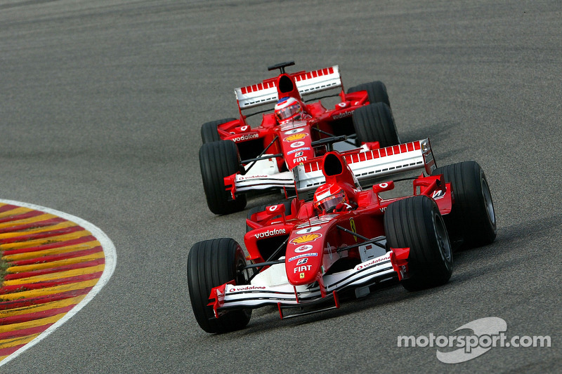 Ferrari 'only did well with Schumacher' - Montoya