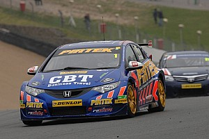 BTCC Qualifying report Champ Jordan pips Plato for pole