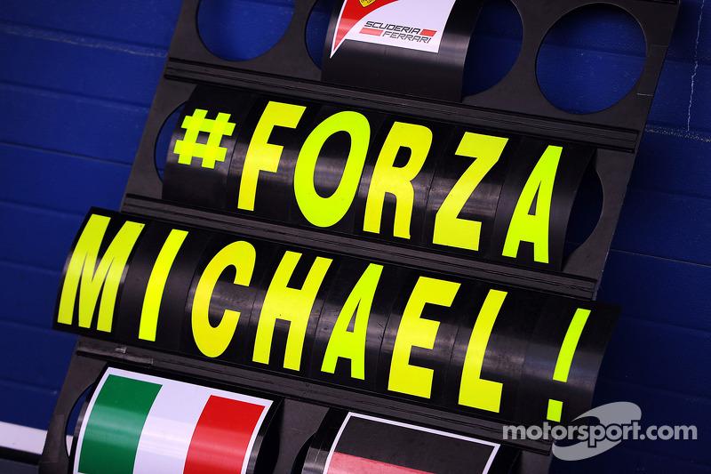 Friend Saillant 'not talking' about Schumacher