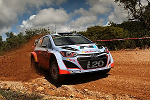 WRC Stage report Mixed fortunes for Hyundai Shell World Rally Team on penultimate day in Portugal