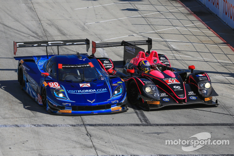 Spirit of Daytona Racing fights to 5th place finish at Long Beach