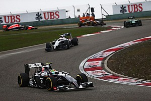 Formula 1 Race report Unhappy Chinese GP for Sauber