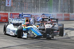 IndyCar Analysis Ill feelings from Long Beach could boil over at Barber