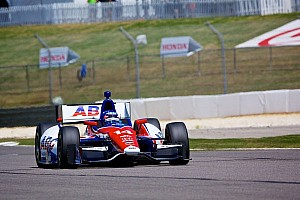 IndyCar Practice report Takuma Sato finished Friday's Practice at Barber