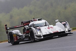 WEC Practice report Audi and Toyota trade lead in free practice 1 at Spa