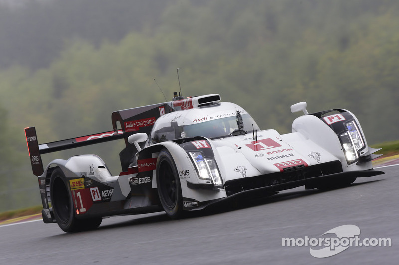 Audi and Toyota trade lead in free practice 1 at Spa