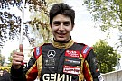 Esteban Ocon claims pole position for home race