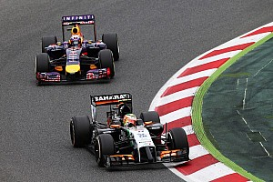 Formula 1 Race report Sahara Force India secured another double points finish in the Spanish GP