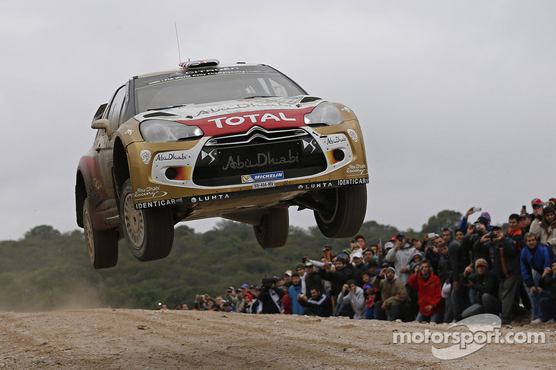 Kris Meeke, Paul Nagle and Citroën on podium in Argentina