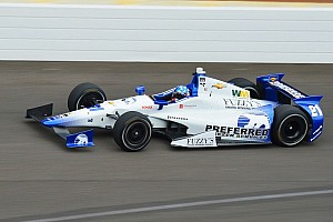 IndyCar Practice report Windy, humid conditions make IMS tricky Monday