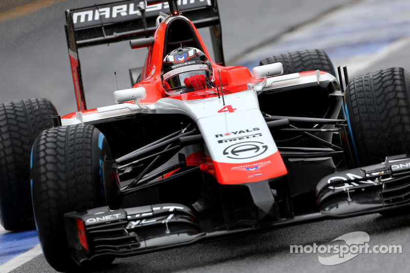 Chilton fastest on opening day of testing in Barcelona