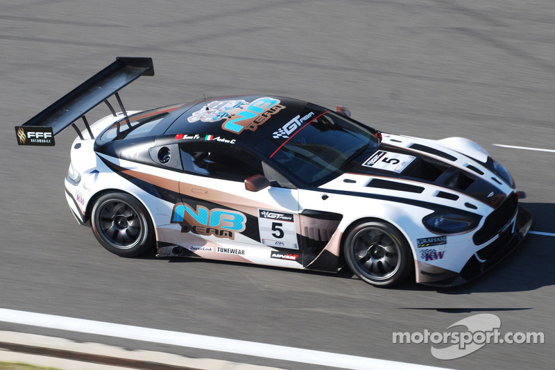 The 'new boys' top opening GT Asia practice in Korea
