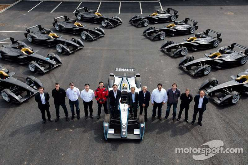 Renault: Teams receive the first batch of single-seater electric cars