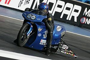NHRA Qualifying report Lucas Oil rider Arana Jr. full of confidence going into Atlanta eliminations