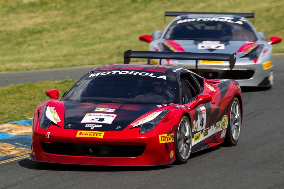 Cheung and Perez take Ferrari Challenge victories at Mazda Raceway Laguna Seca