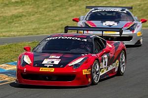 Ferrari Race report Cheung and Perez take Ferrari Challenge victories at Mazda Raceway Laguna Seca