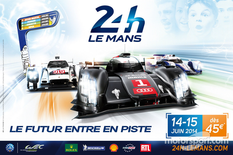2014  Le Mans 24 Hours - The race is already over on Twitter!