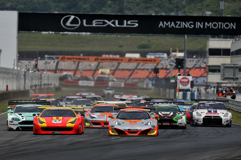 GT Asia Series: Two different winners claim victory in round four at Autopolis