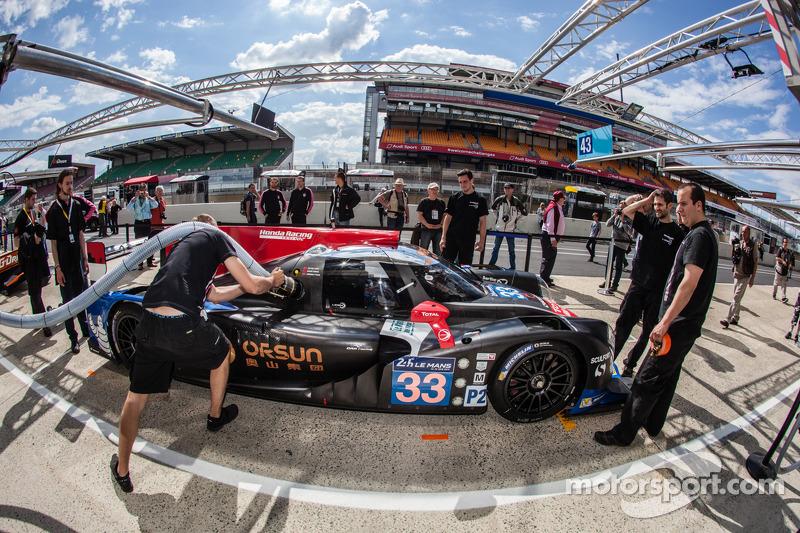 Promising start for OAK Racing Team Asia