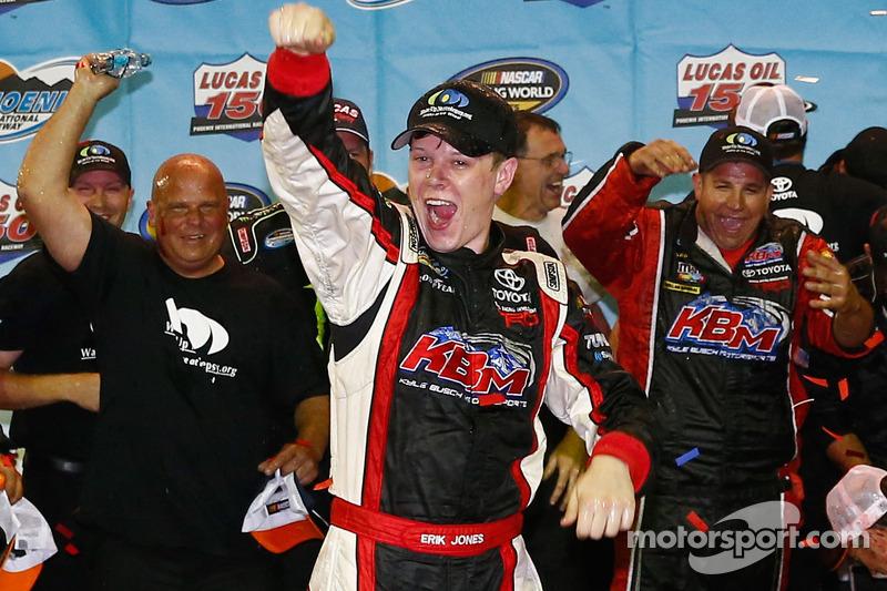 Erik Jones willing to miss high school graduation to race NASCAR