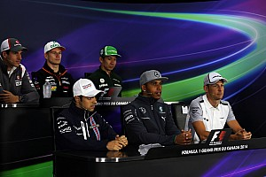 Formula 1 Press conference 2014 Canadian Grand Prix Thursday press conference