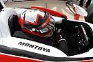Montoya having fun racing with Team Penske
