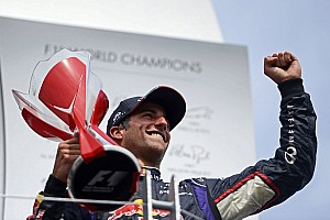 Formula 1 Breaking news Ricciardo 'can be champion' - Berger