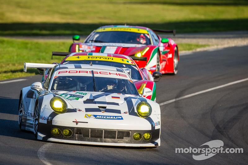 Porsche 911 Rsr Finishes 24 Hour Marathon At Le Mans In Third