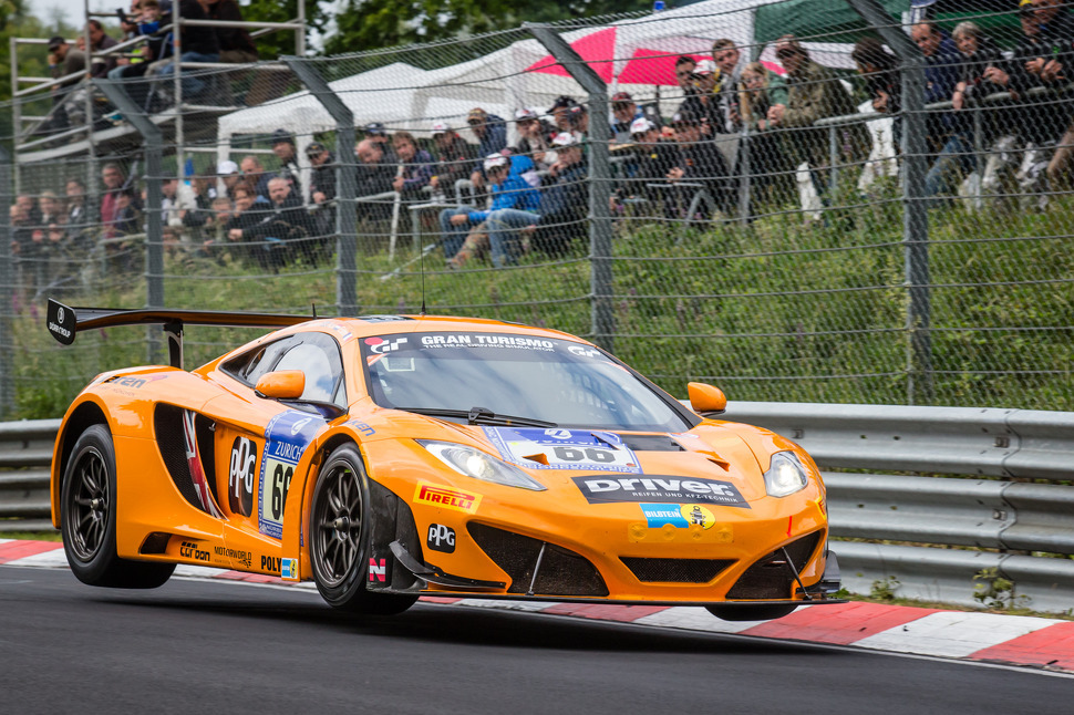 Kevin Estre and McLaren shatter qualifying lap record for Nürburgring 24