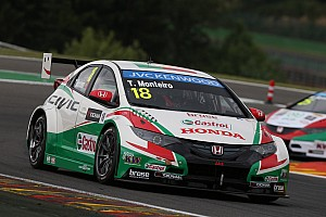WTCC Race report Honda Civics battle for Championship points in Spa WTCC Races