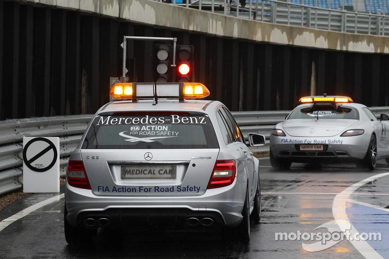 Medical marvel - FIA delegates tour medical car