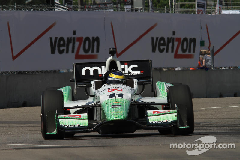 KVSH Racing driver Sebastien Bourdais returns to racing after two week break
