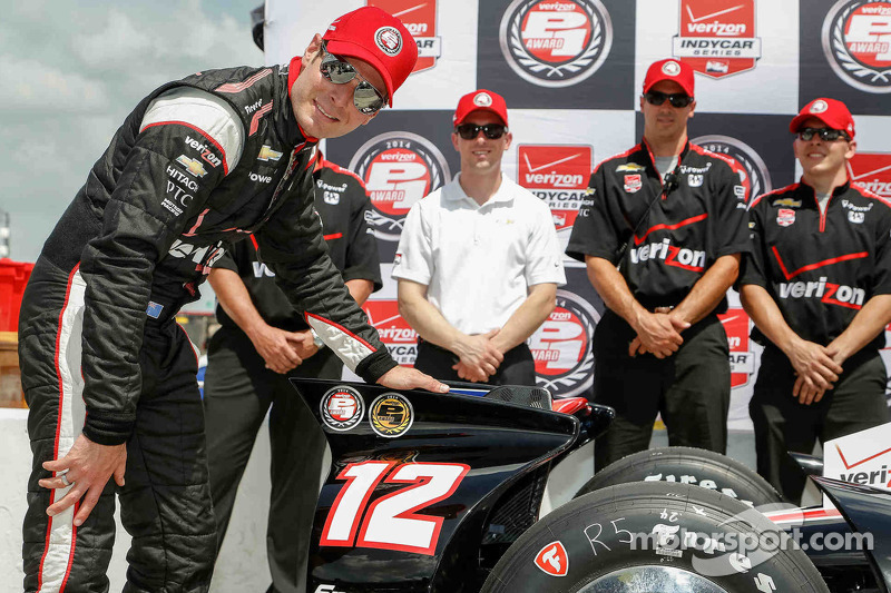 Team Penske drivers talk IndyCar at Houston