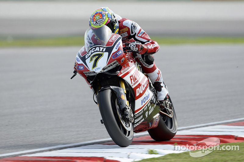 The Ducati Superbike Team prepares to race in Portugal this weekend
