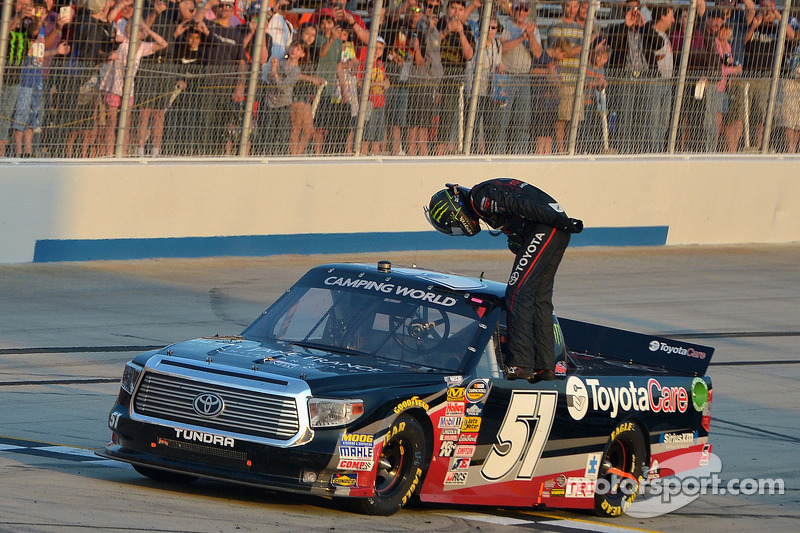No. 51 NASCAR Camping World Truck Series team penalized