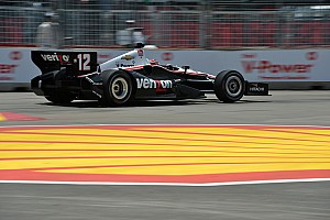 IndyCar Preview Team Chevy ready to take on Pocono's tricky triangle