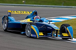Formula E Testing report Sebastien Buemi sets the pace in first Formula E test