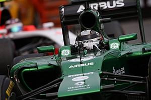 Formula 1 Breaking news Team drivers surprised by Caterham sale