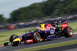 Formula 1 Practice report Ricciardo gets the fourth best time on practice at Silverstone