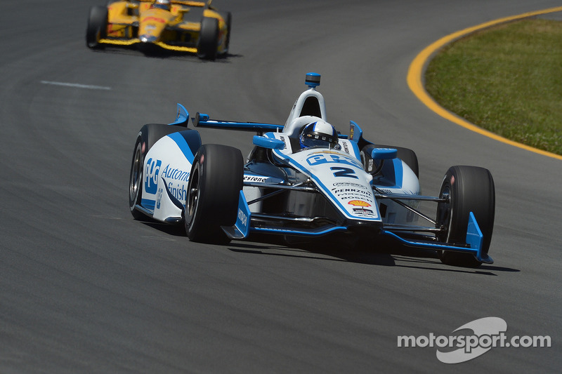 Montoya cashes in on opportunity with Team Penske