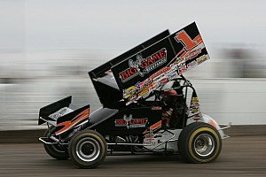 World of Outlaws Race report Sammy Swindell wins 'Knight Before the Kings Royal' at Eldora