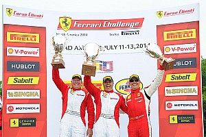 Ferrari Race report Anassis and Wei Sweep Weekend at Road America