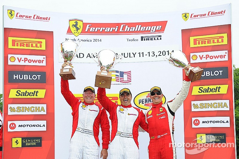 Anassis and Wei Sweep Weekend at Road America