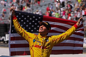 IndyCar Breaking news Ryan Hunter-Reay named Driver of the Year at the ESPY's