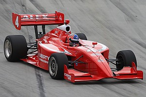 Indy Lights Qualifying report Rookie Alex Baron takes first Indy Lights pole