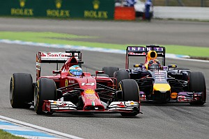 Formula 1 Race report Ferrari on the German GP:  Alonso fights tooth and nail for fifth