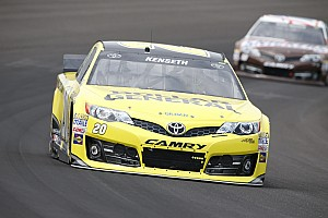 NASCAR Cup Practice report Kenseth encouraged after Sprint Cup practice for the Brickyard 400